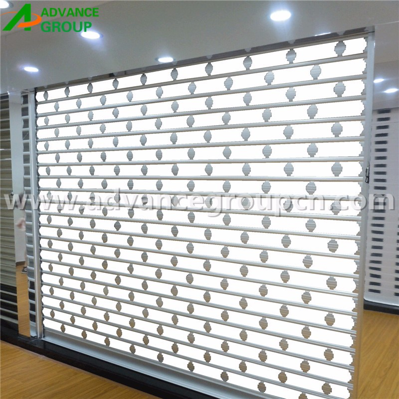 Aluminum Perforated Shutters For Doors