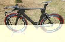 New design and hot selling T700 toray wholesale 700C carbon TT bike frame, time trial carbon triathlon bike