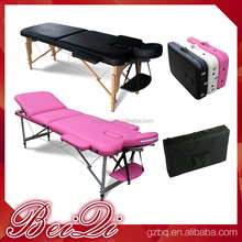 Factory wholesale cheap portable aluminum folding massage bed parts , Adjustable used massage tables for sale