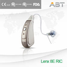 """Lenx 8"" Latest RIC Digital Hearing Aid"