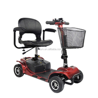 Fashion cheap four wheel lightweight outdoor electric mobility scooter