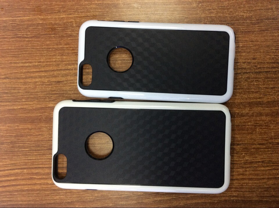 New arrival! Best quality Clean TPU Case Rear cover Black for ip6 accepted paypal