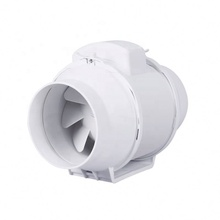 Cooling Dc Motor Centrifugal 190Mm 24V Blower 12 Volt Inlinee Duct <strong>Fan</strong>
