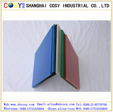 Waterproof corrosion resistant pp corrugated boards/pp plastic hollow sheet/polypropylene plastic core flute board