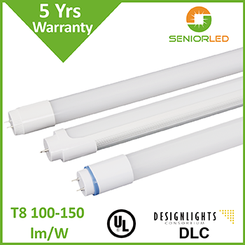 High brightness 4ft and 8ft 18w led tube t8 light with pc cover