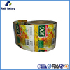 Heat resistant shrink sleeve label film for beverage bottle packaging