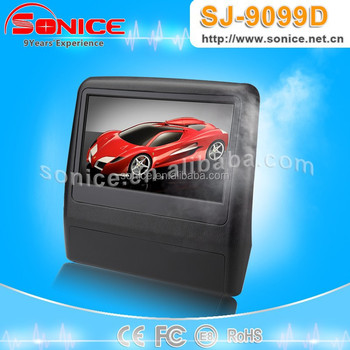 SONICE 9 inch Slim Headrest car DVD for Lexus Design