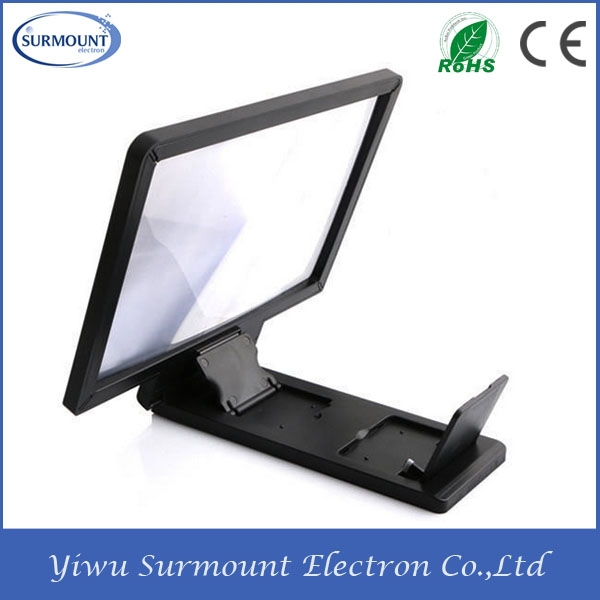 Foldable Mobile Phone Screen Magnifier 8.2inch Screen Enlarging Magnifier holder