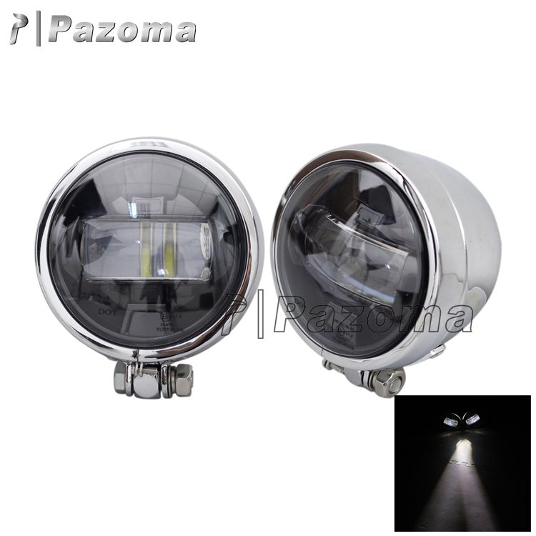 New Product Universal Aluminum E13 LED Spotlight Driving Light For Yamaha Honda Suzuki Harley Kawasaki Victory
