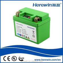 Wholesale for motorcycle manufacturer starting battery pack lithium lifepo4 battery 12v 2.4ah
