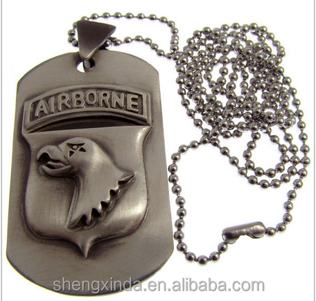 Military Dog Tag United States Army Armed Forces 101st Airborne Screaming Eagle