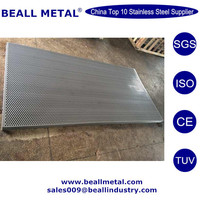 High Quality 304 304L 316 Stainless Steel Punched Plate / Sheet Price for Decoration