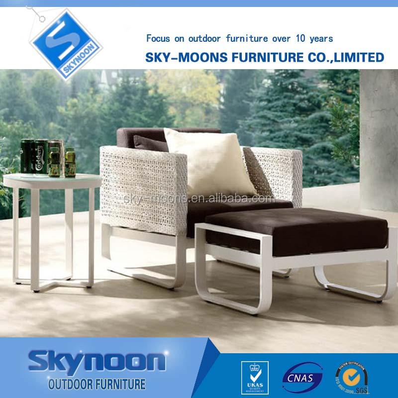 2016 Wholesale Outdoor Rattan Furniture White Color