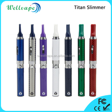 Top quality titanium coil dry herb vaporizer e cigarette snoop dogg