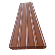 Trade assurance cheap metal roof colored corrugated steel roofing sheet material