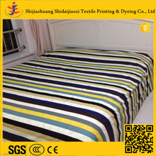 100% cotton reactive printing bedding fabric high quality for home textile