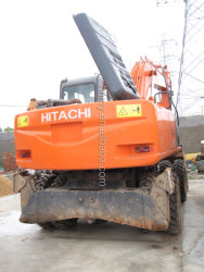 used Hitachi excavator ZX100 Japanese wheeled hot sale good quality