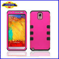 Soft Silicone 3 in 1 Rubber Hard Case for Samsung Galaxy Note 3 N9000