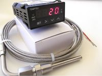 DIGITAL WATER/OIL TEMPERATURE 12Vdc GAUGE digital temperature indicator