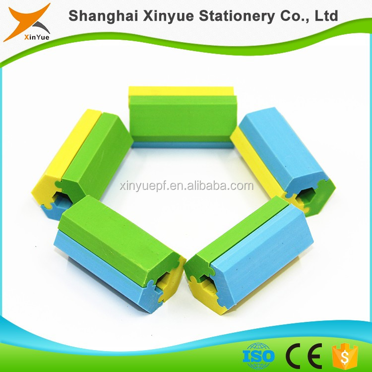 school supplies stationery promotonal puzzle eraser for kids