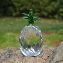 Personalized crystal pineapple decoration for wholesale