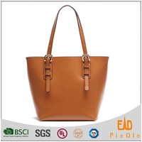 S559-A2623 simple and cheap shopping bag Luxury ladies Genuine leather tote bags