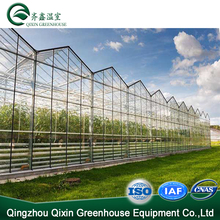 Mini Prefabricated Glass Conservatory Greenhouse Steel Structure