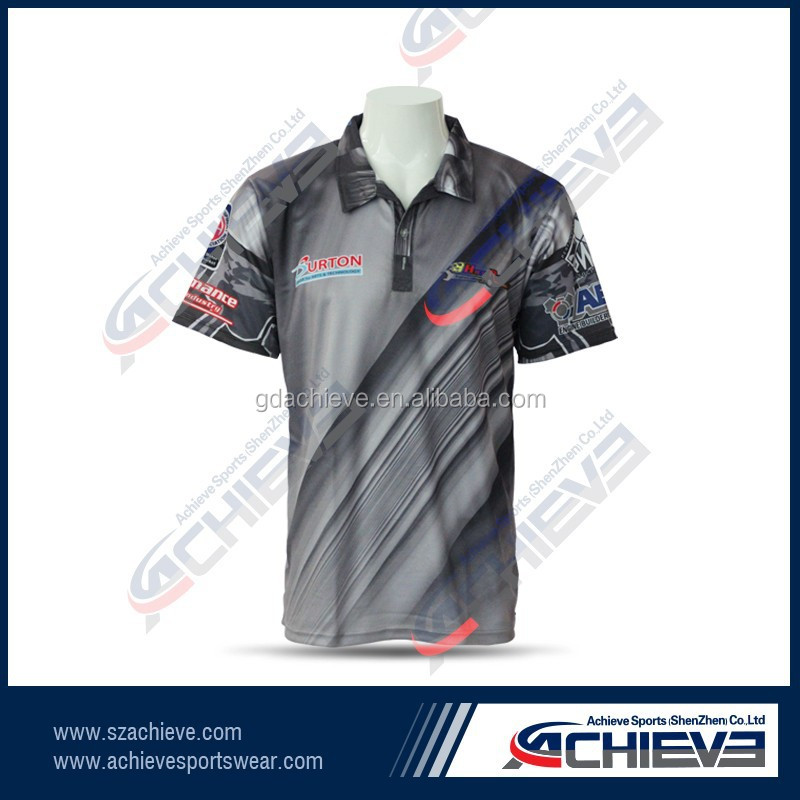 achieve Custom Sublimation Printing Polo Apparel /Garment/Shirt/