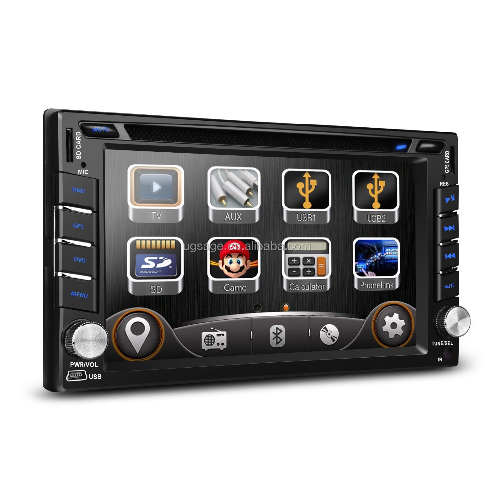 "Xtrons TD619G 6.2"" HD Digital TFT Touch Screen Double Din Car auto DVD Player GPS Navigator with Screen Mirroring forNissan"