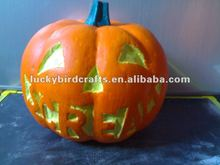 Artificial styrofoam halloween pumpkin,halloween decoration
