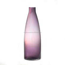 Best Selling Hand Blown Home Decoration Glass Bottle Vase