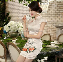 Z55125B Fashion Traditional Chinese Clothing Women Elegant Vintage Cheongsam