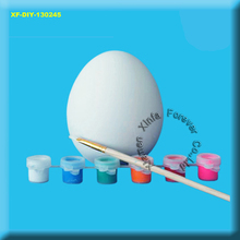 unpainted ceramic bisque easter egg paint set