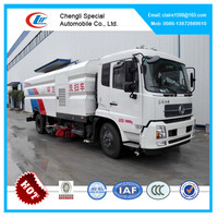 DongFeng road sweeper truck street cleaing truck of good price