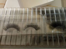 Hand made premium 3D silk Eyelash wholesale synthetic fiber false eyelashes