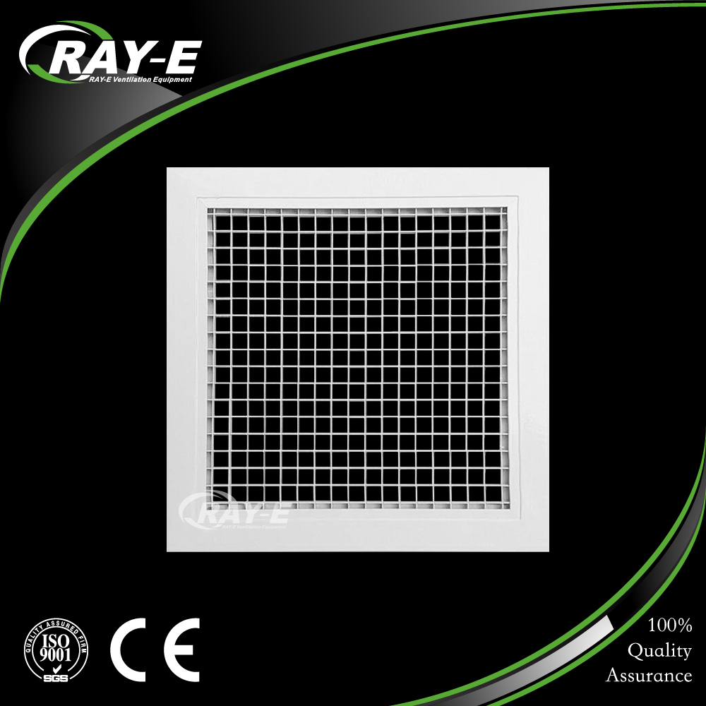 hot-sale air ventilation vent aluminum egg crate air grille with removable core for HVAC system