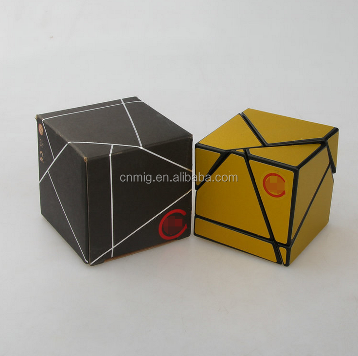 abnormity portable newest folding magic cube 2x2