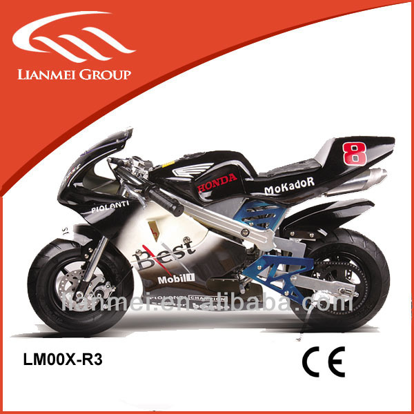 49cc racing motorcycle for sale for kids with pull start with CE LMOOX-R3