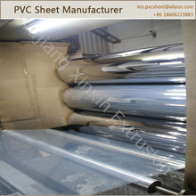 Super clear soft PVC sheet, flexible transparent PVC roll