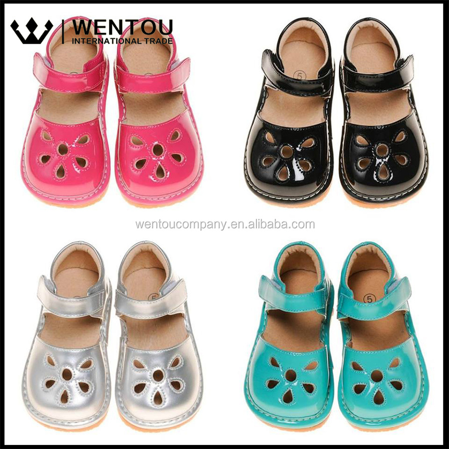 Wentou Wholesale Girl Squeaky Shoes