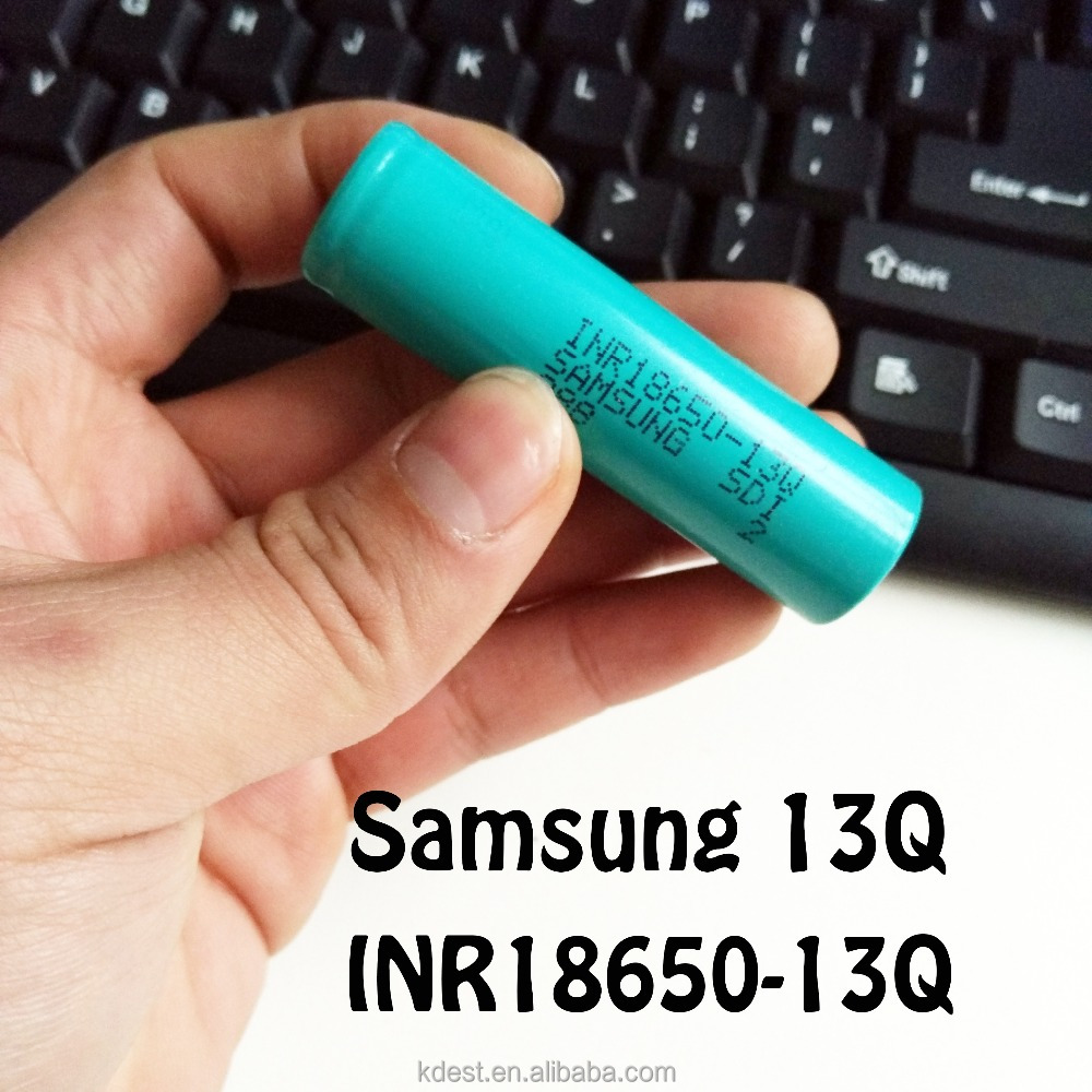 1300mah 18650 li-ion rechargeable battery samsung inr18650-13q 1300mah