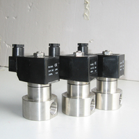 China made low price high pressure stainless steel 304 316 BSP thread connection water solenoid valve 12V