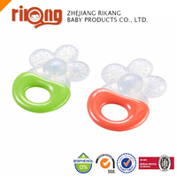 Transparent silicone Teether Toys