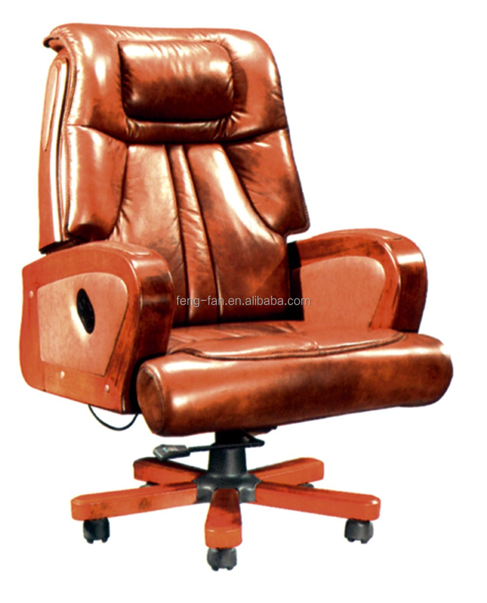High end Synthetic and genuine leather CEO office swivel lift chair recliner chairs on sale