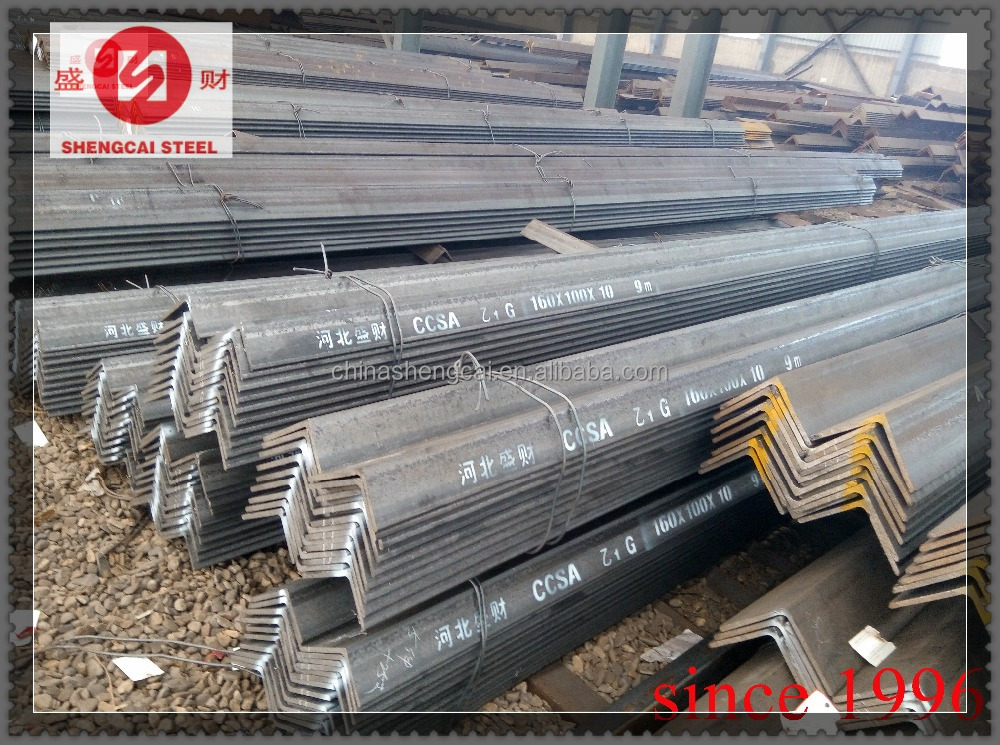 right angle iron sizes from 20x20mm-250x250mm for bridge building use