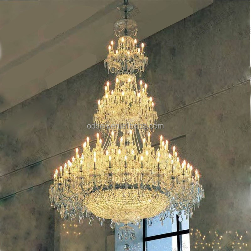 2015 zhongshan contemporary big size led arabian chandelier glass cover