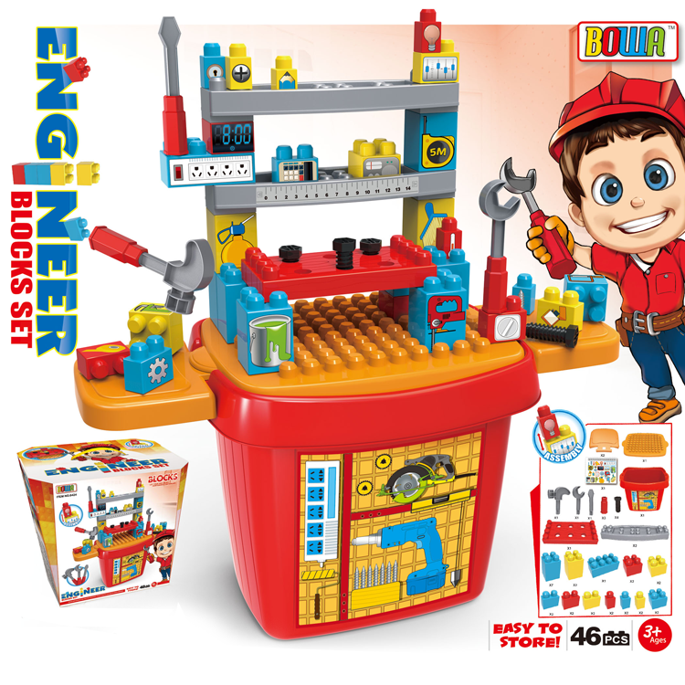 Hot Selling Plastic Toy Tool Set Workbench