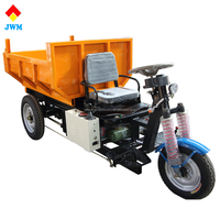 Bottom price hydraulic self loading electric tricycle cargo for engineering