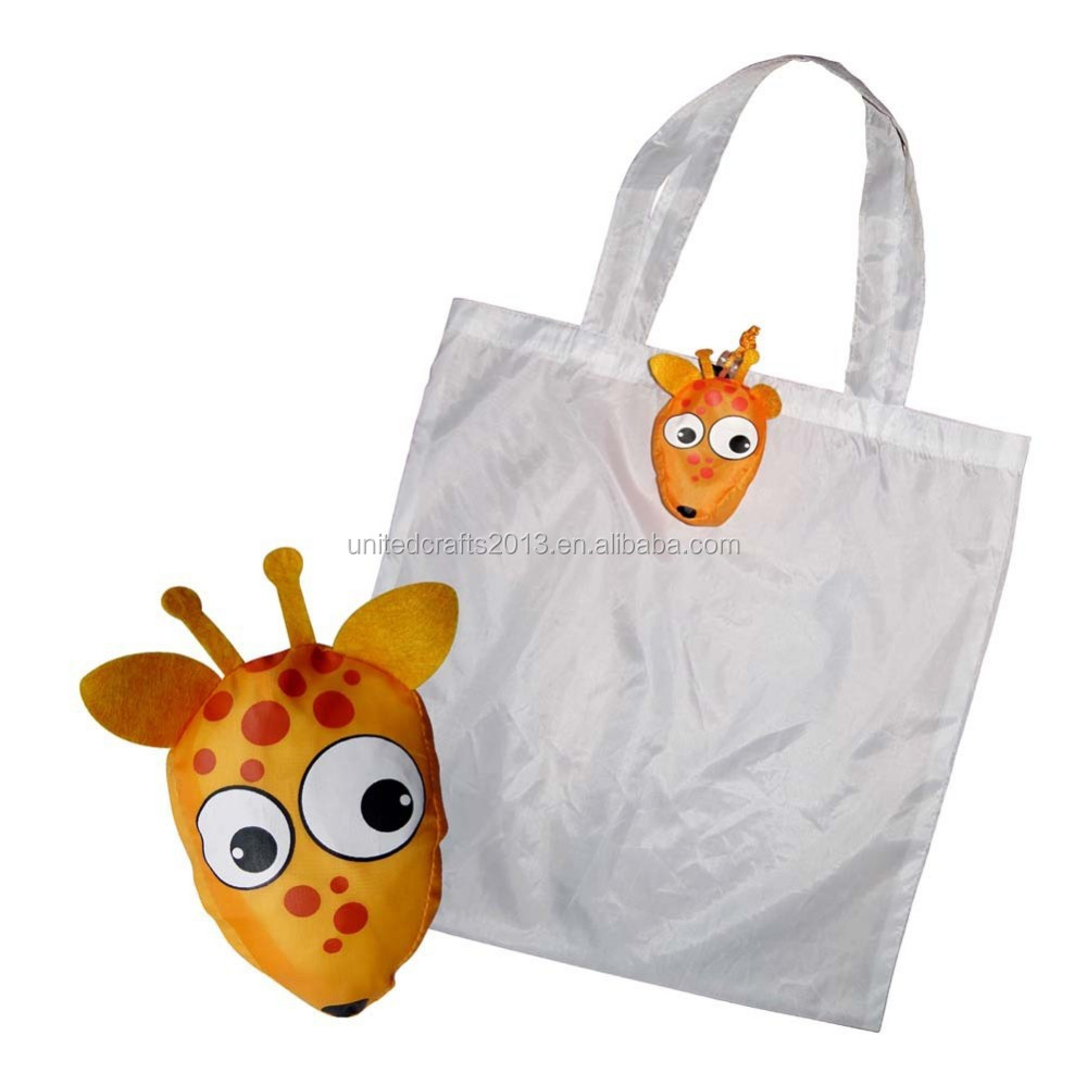 High quality custom shopping bags with tiger head