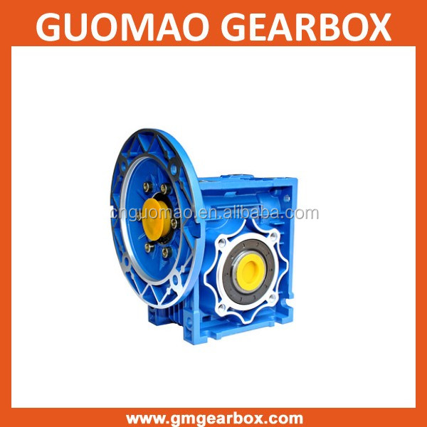 Variable Ratio Blue Aluminum nmrv 75 manual worm gearbox